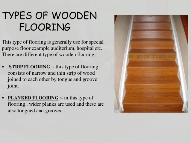 flooring and its types