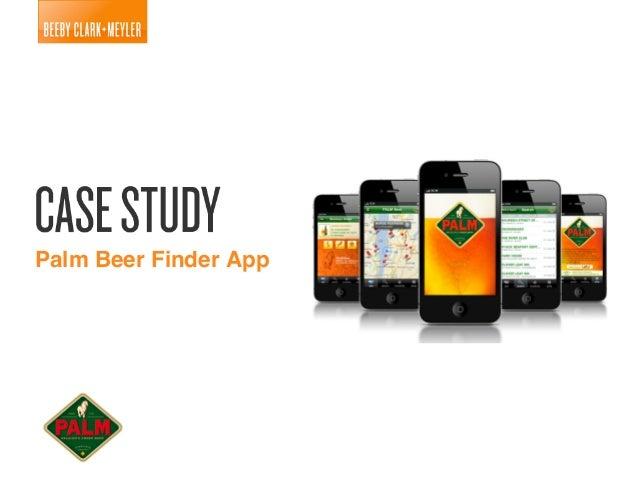 Palm Beer Finder App!