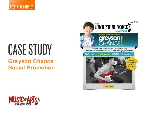 Greyson ChanceSocial Promotion
