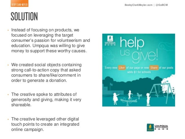 Umpqua Bank Managing The Culture And Implementing The ...