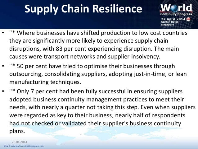 business continuity management case study Risk evaluation and control case study business continuity for a small business case study  cambridge risk solutions can assist with risk management for business .