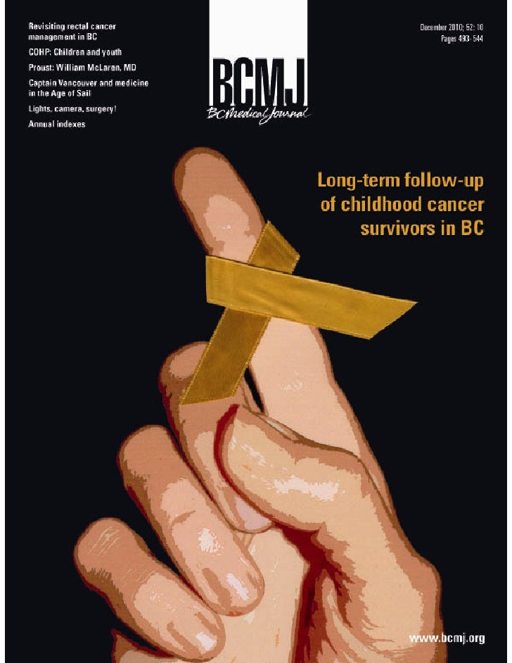 British Columbia Medical Journal, December 2010 issue - Cover