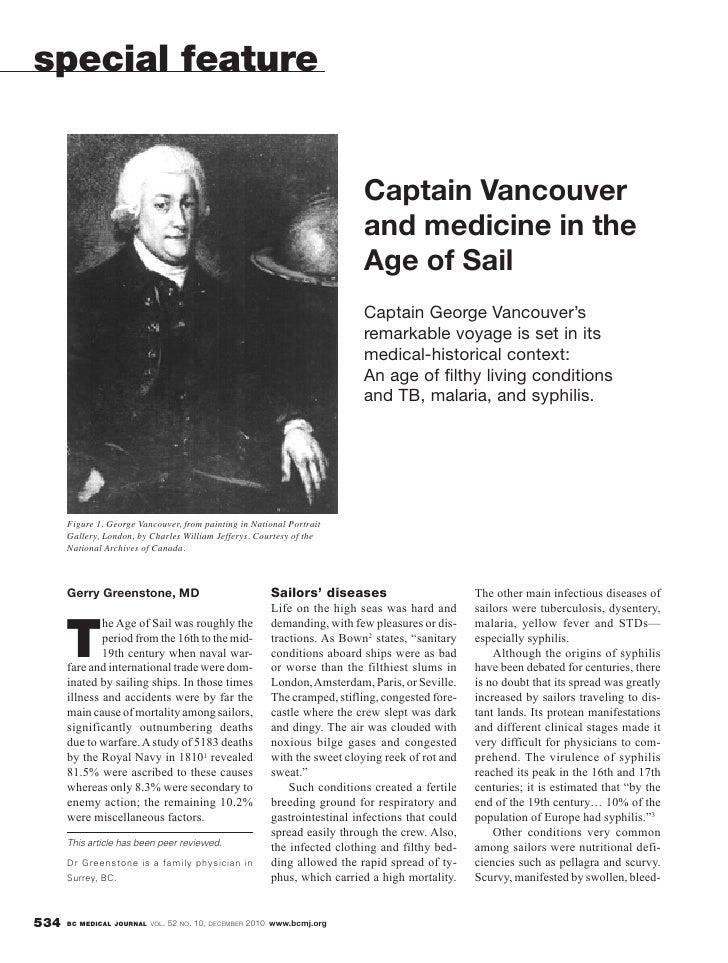 special feature                                                                           Captain Vancouver               ...