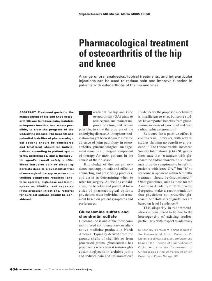 Stephen Kennedy, MD, Michael Moran, MBBS, FRCSC                                                             Pharmacologica...