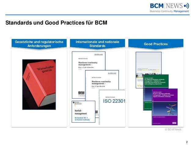 BCM Standards 11.2014 Slide 2