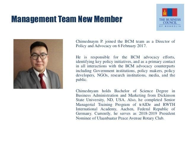 BCM Updates, 13 March 2017