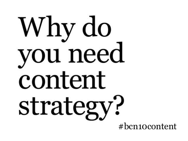 BarCamp Nashville 2010 - Content Strategy Takeaway Slide 3