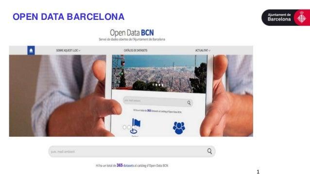 1 OPEN DATA BARCELONA