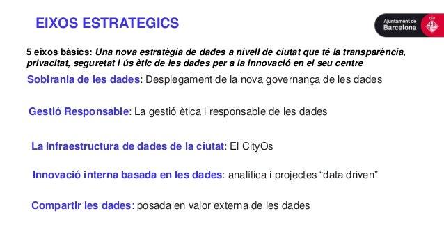 Sobirania de les dades: Desplegament de la nova governança de les dades 5 eixos bàsics: Una nova estratègia de dades a niv...