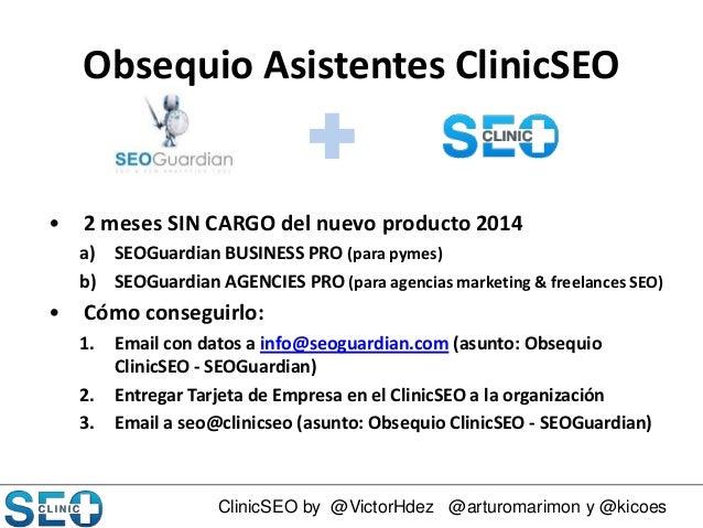 Clinic SEO 2014: Consultoría SEO Slide 2