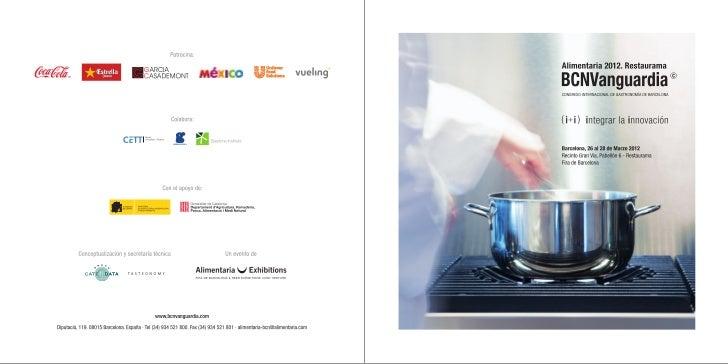 Bcn vanguardia restaurama_alimentaria2012