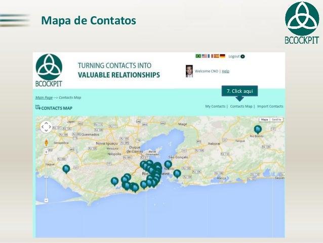Mapa de Contatos7. Clickaqui