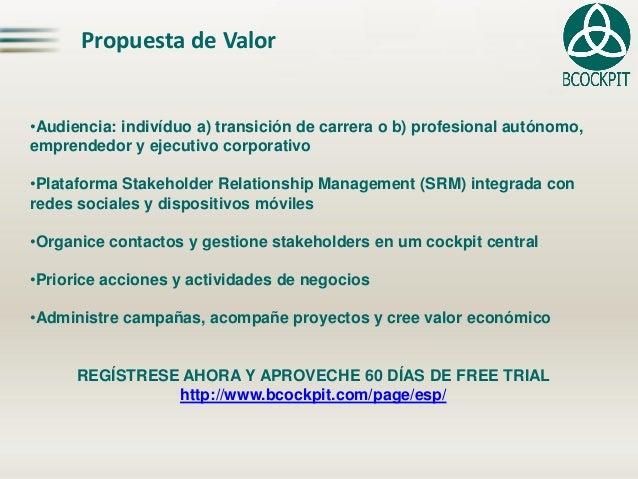 Propuesta de Valor  •Audiencia: indivíduo a) transición de carrera o b) profesional autónomo, emprendedor y ejecutivo corp...