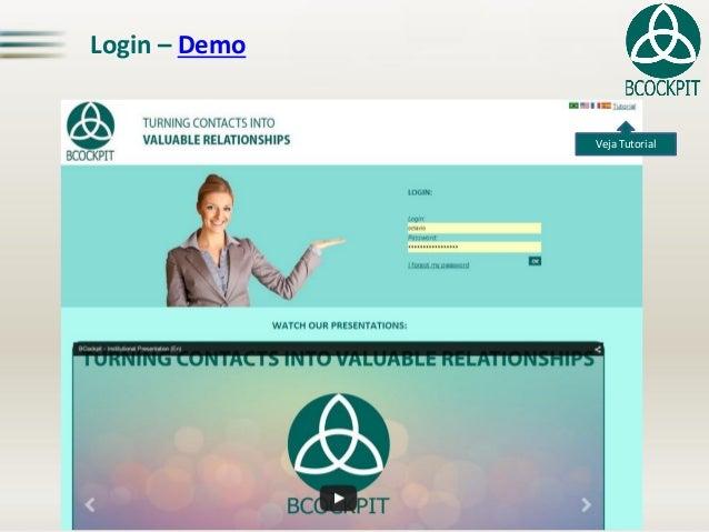Login – Demo Veja Tutorial