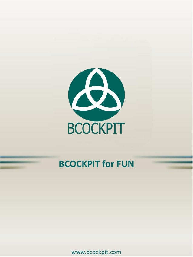 BCOCKPIT for FUN  www.bcockpit.com