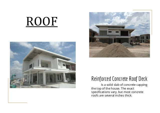 7.0 ROOF; 54. Reinforced Concrete Roof Deck ...