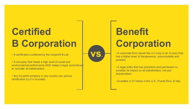 B Corporations by Andreas Renner, Founder B Corp Germany