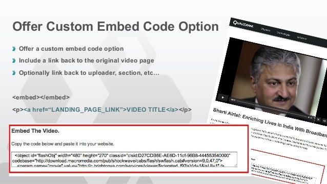 Brightcove Video SEO - Optimizing Brightcove Video for Search