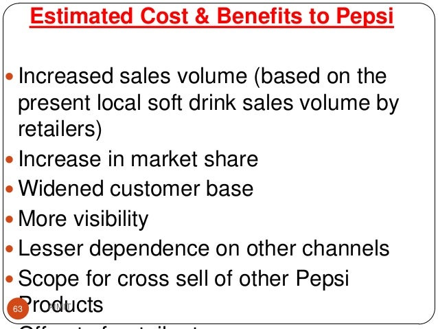 pepsi feasibility study Free essay: trucking business plan project/business introduction pepsi cola products philippines, inc company overview we are the beverage company of choice.