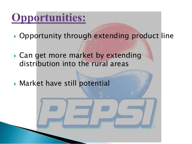 physical distribution in rural market of pepsi A study on distribution channel at  distribution channels may not be restricted to physical products  (itself with nearly 20 percent of the market), pepsi .