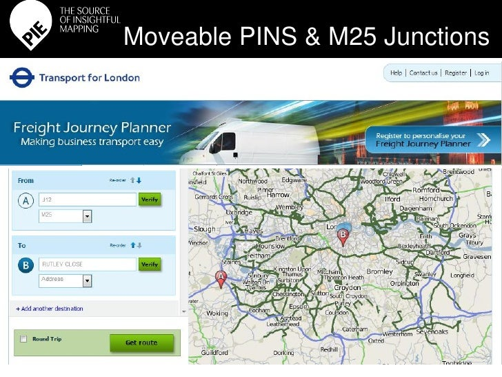 Freight Journey Planner for Transport for London
