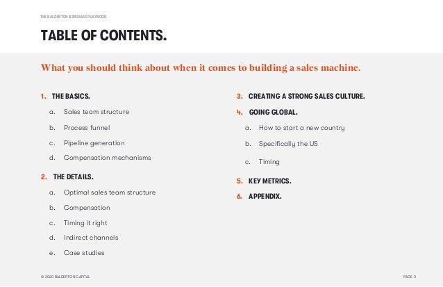 The Balderton B2B Sales Playbook Slide 3