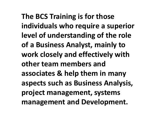 Bcs Business Analysis Training in Australia