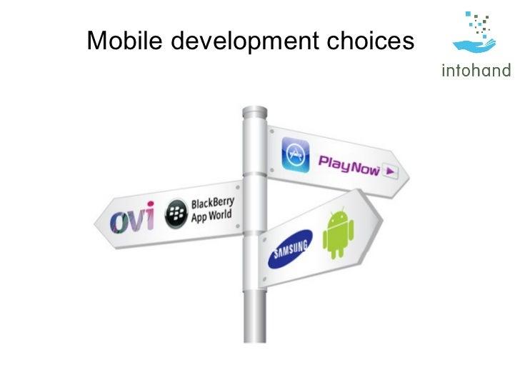 BCS Mobile development choices