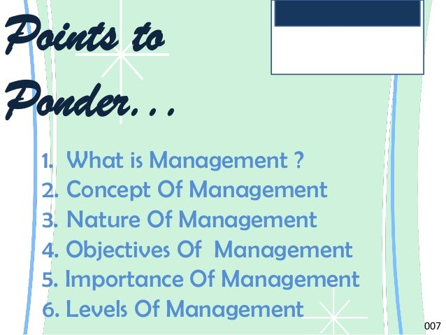 nature and significance of management Organizations are totally reliant on communication, which is defined as the exchange of ideas, messages, or information by speech, signals, or writing without.