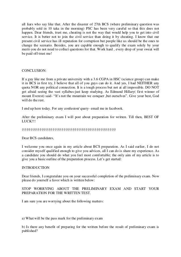 Bcs exam prep tips by mashroof 2