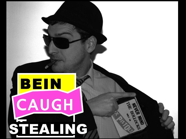 BEING CAUGHT STEALING