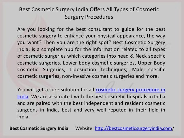 Are you looking for the best consultant to guide for the best cosmetic surgery to enhance your physical appearance, the wa...