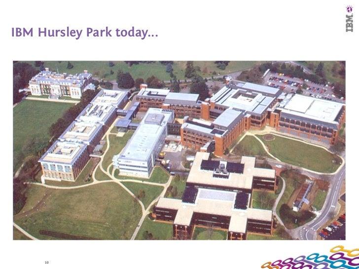 IBM Hursley Park today...     10