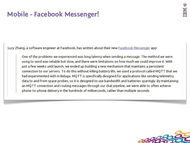 Mobile - Facebook Messenger!
