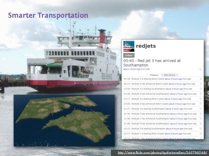 Smarter Transportation                         http://www.flickr.com/photos/tipsfortravellers/3657960168/