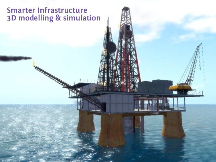 Smarter Infrastructure3D modelling & simulation