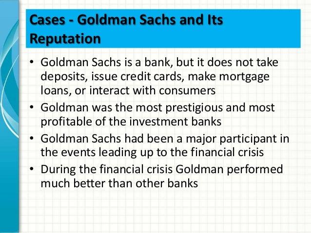 Goldman sachs suggested reading list