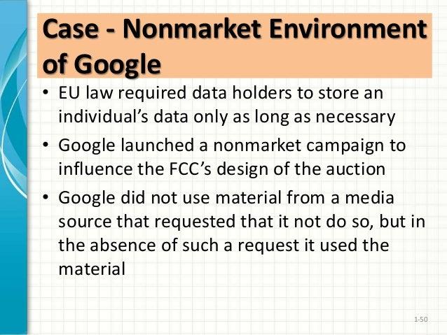 The Nonmarket Environment of Google Harvard Case Solution & Analysis