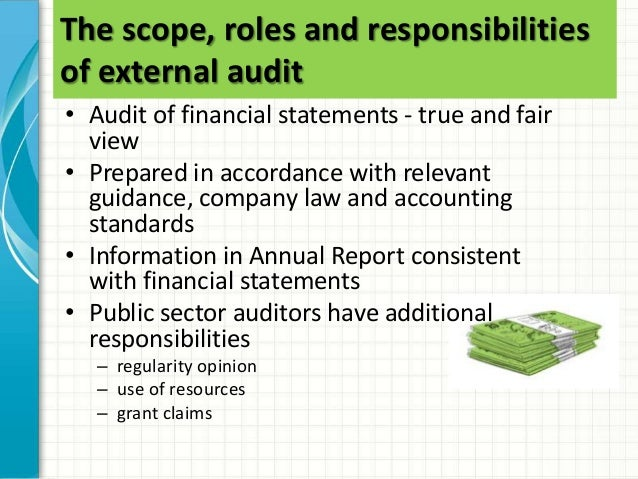 58 the scope roles and responsibilities