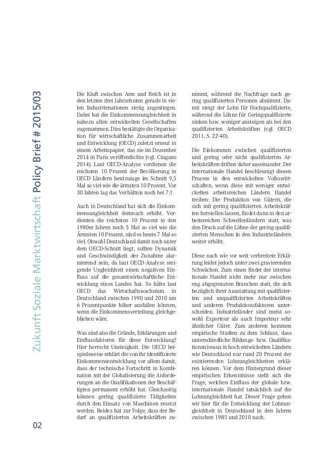 Studie: Lohnungleichheit in Deutschland – Welche Rolle spielt der Handel? Slide 2