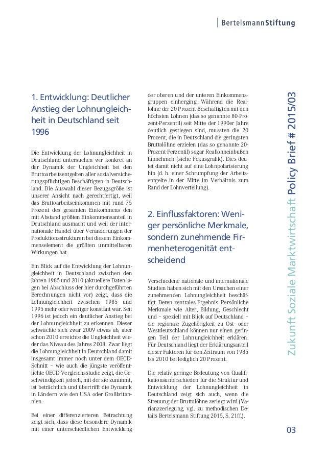 Studie: Lohnungleichheit in Deutschland – Welche Rolle spielt der Handel? Slide 3