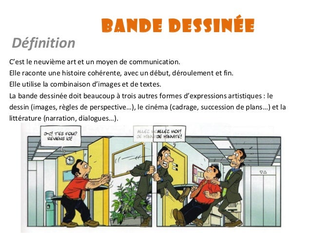 La bande dessin e - Definition d histoire ...