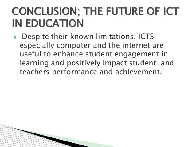 the impact of icts on students There is widespread belief that icts can and will empower teachers and learners, transforming teaching and learning processes from being highly teacher-dominated to student-centered, and that this transformation will result in increased learning gains for students, creating and allowing for opportunities for learners to develop their creativity .