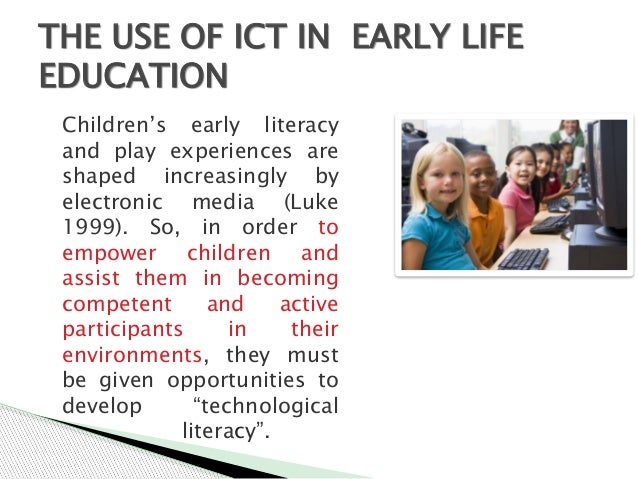 ICT IN EDUCATION PRESENTATION