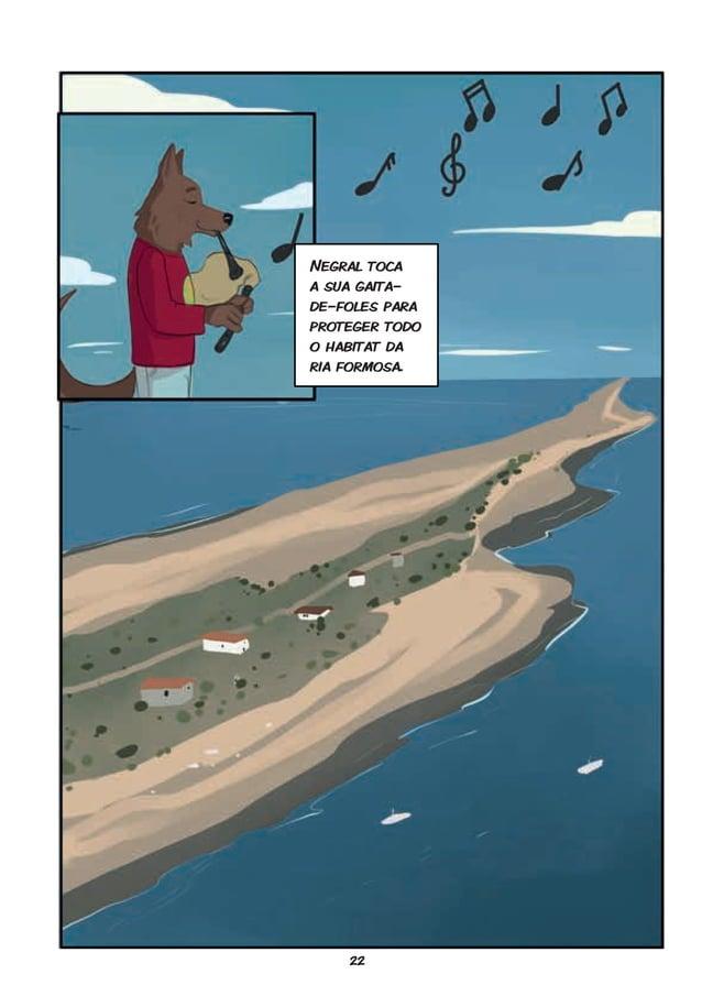 22 FIM Negral toca a sua gaita- de-foles para proteger todo o habitat da ria formosa.