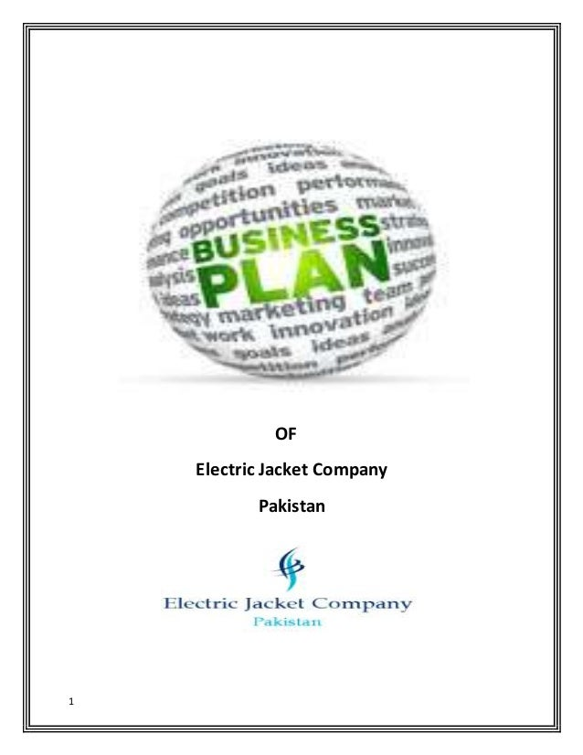 business plan projeckt