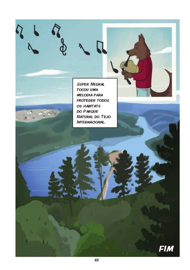 22 FIM Super Negral tocou uma melodia para proteger todos os habitats do Parque Natural do Tejo Internacional.