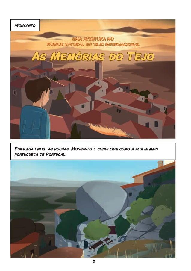 3 Monsanto Edificada entre as rochas, Monsanto é conhecida como a aldeia mais portuguesa de Portugal. UMA AVENTURA NO PARQ...