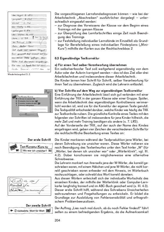 """Wiederholungstest S. 2  Die vorgeschlagenen Lernstandsdiagnosen können – wie bei der  Arbeitstechnik """"Abschreiben"""" ausführ..."""