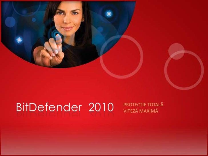 Suita 2010 de solutii BitDefender